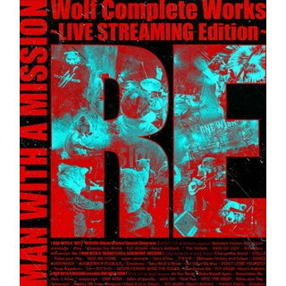 Blu-ray)MAN WITH A MISSION/Wolf Complete Works〜LIVE STREAMIN (SRXL-318) hakucho