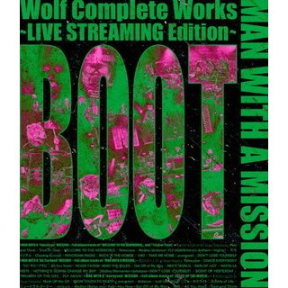 Blu-ray)MAN WITH A MISSION/Wolf Complete Works〜LIVE STREAMIN (SRXL-319)|hakucho