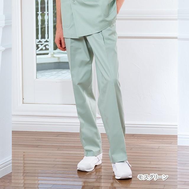 KNX790 カンサイ 男子スラックス 送料無料 白衣 医療用 医師用 ドクター 白 ホワイト グリーン ナガイレーベン knx-790