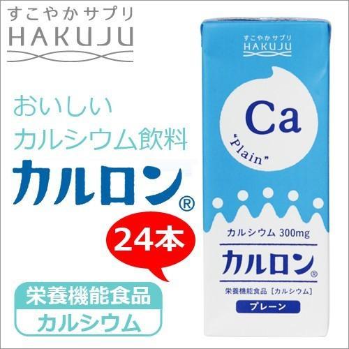 高カルシウム飲料 CPP マグネシウム入り  カルロン 200ml×24本入り|hakuju-net