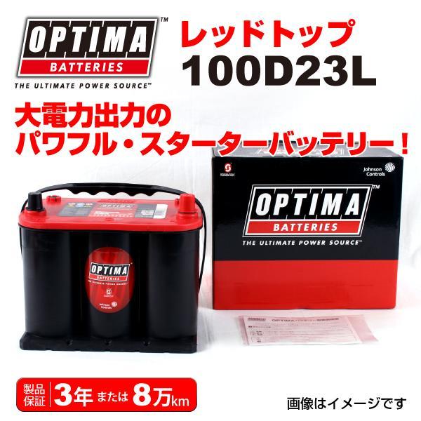 スバル フォレスター OPTIMA バッテリー 100D23L レッドトップ RT100D23L 保証付