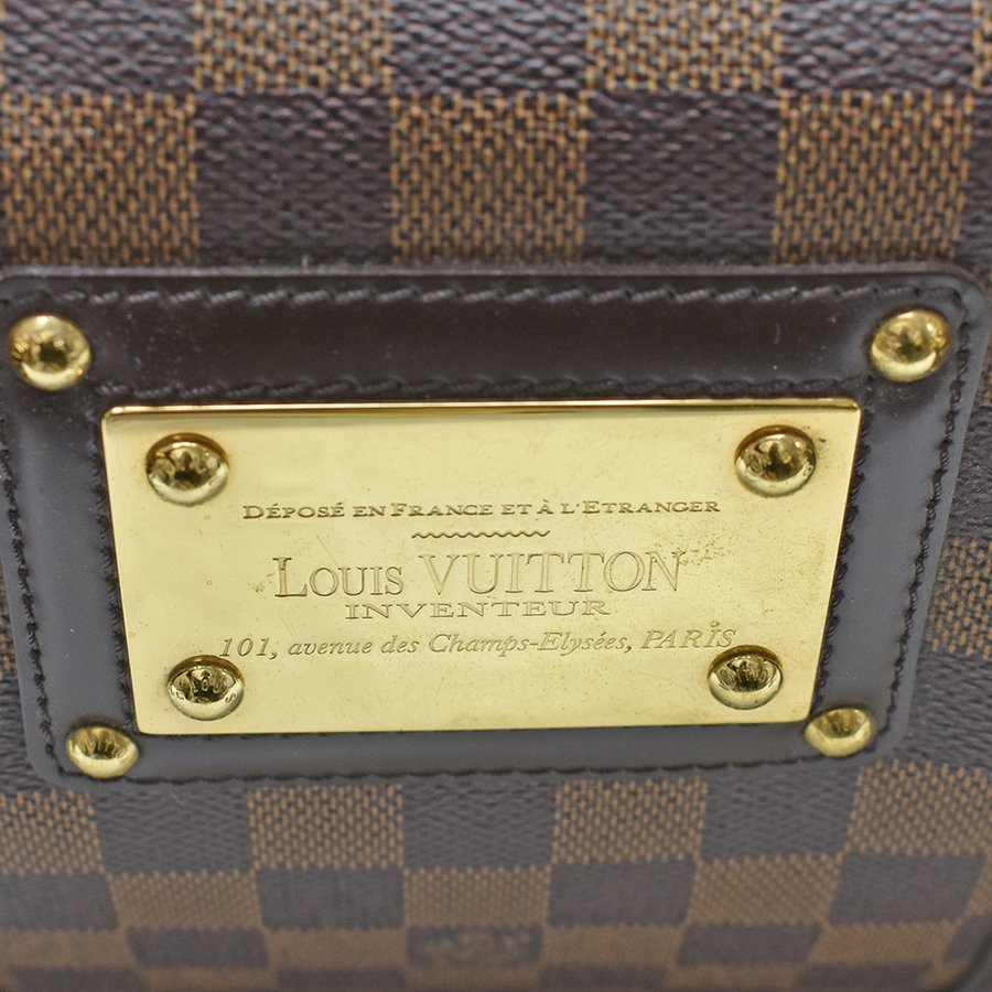 LOUIS VUITON(ルイヴィトン)バークレー N52000 ダミエ ハンドバッグ ゴールド金具 レディース【中古】|hakuraku78|04