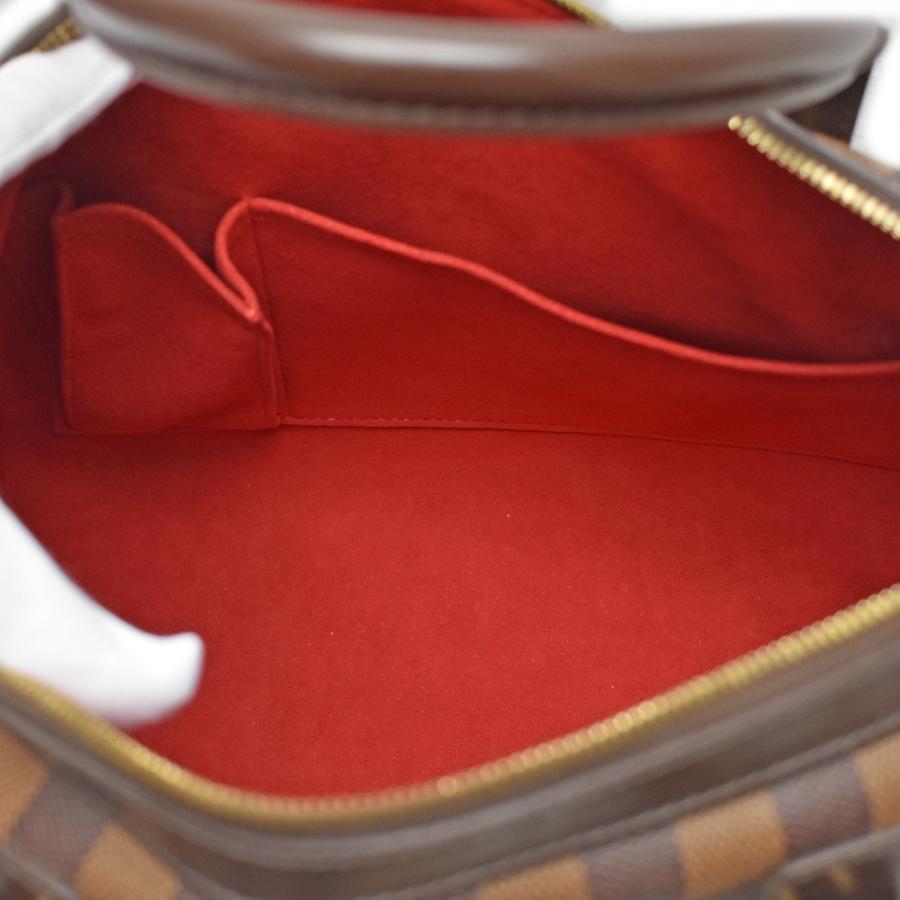 LOUIS VUITON(ルイヴィトン)バークレー N52000 ダミエ ハンドバッグ ゴールド金具 レディース【中古】|hakuraku78|09