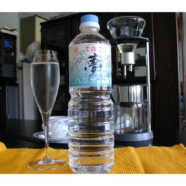 お得ないつでもお試し価格商品 生命の水夢1Lペットボトル×10本入り箱(四国・中国・関西・関東地区の方) hakuzanyahustore 03