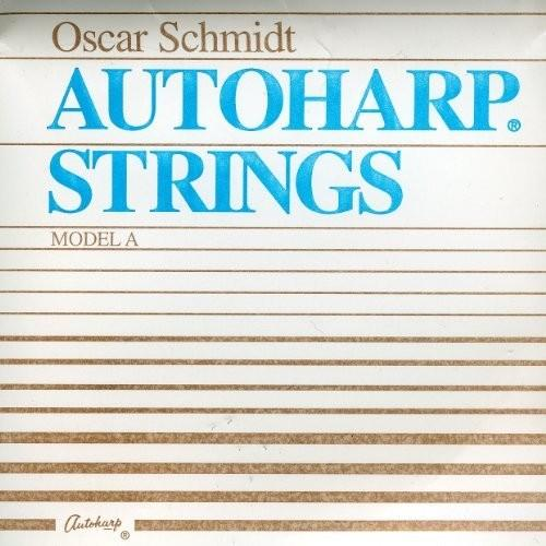 Oscar Schmidt Autoharp String Set, Model A, AS-A, Loop End