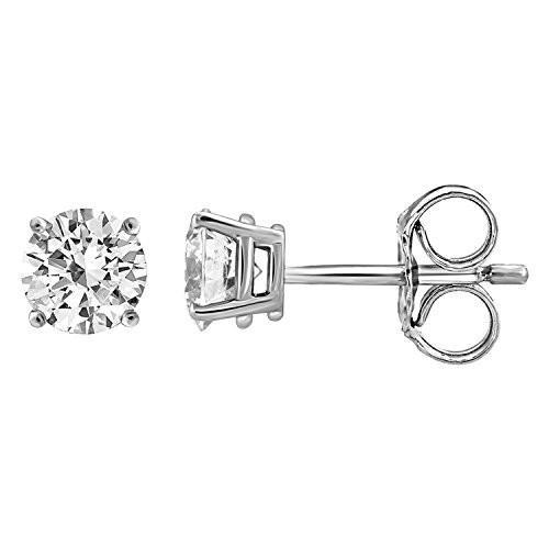 憧れの IGI Certified Diamond Women Stud Stud Earrings Diamond for Women Set in 14K Gold(1/4ctw W, イクノチョウ:123389ef --- airmodconsu.dominiotemporario.com