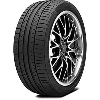 245/45-17 Continental ContiSportContact 5 Summer Performance Tire 280A