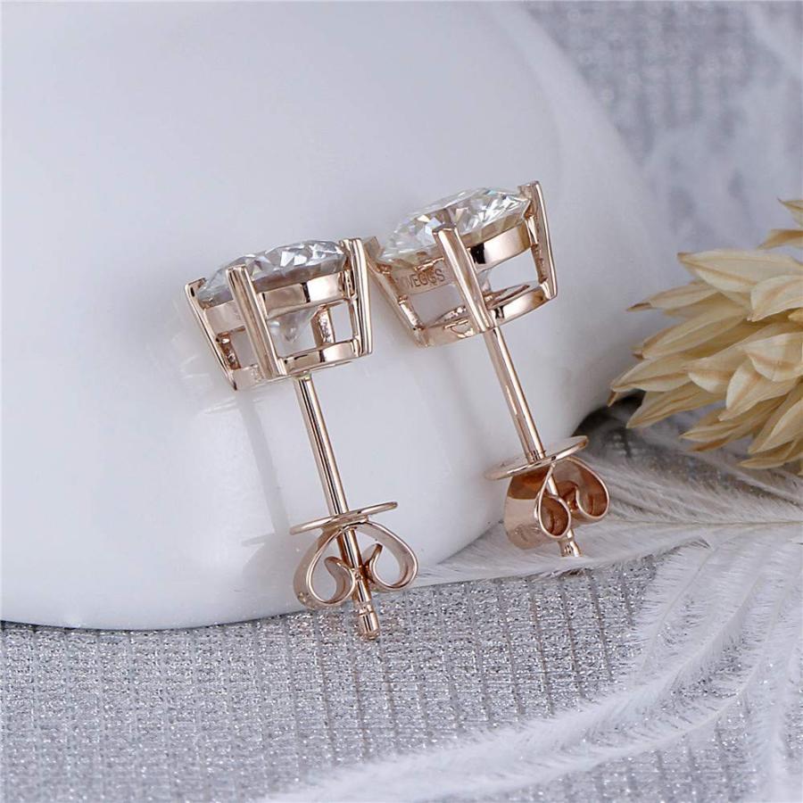 【5%OFF】 DovEggs Arrows Solid DovEggs 14K Rose Gold 2ct 6.5mm 2ct G-H-I Color Heart Arrows Cut Moi, 佐那河内村:f061a5bb --- airmodconsu.dominiotemporario.com