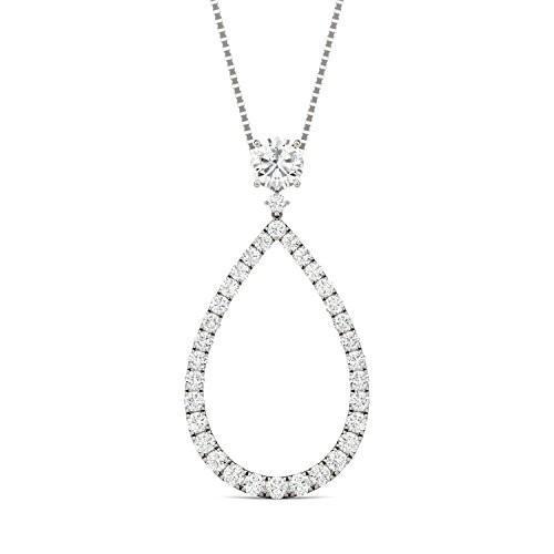 結婚祝い Forever Brilliant Round 5.5mm 5.5mm Necklace, Moissanite Pendant Drop 1.13ct Necklace, 1.13ct, supreme:b3a1a1d1 --- airmodconsu.dominiotemporario.com
