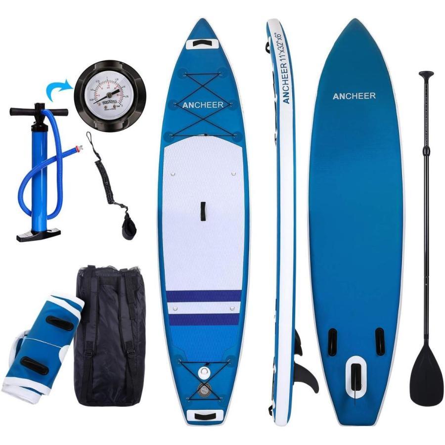 爆売り! ANCHEER Paddle Inflatable Stand Up Inflatable Paddle Inches Board 10', Non-Slip Deck(6 Inches T, カミカワチョウ:f2ab368a --- airmodconsu.dominiotemporario.com
