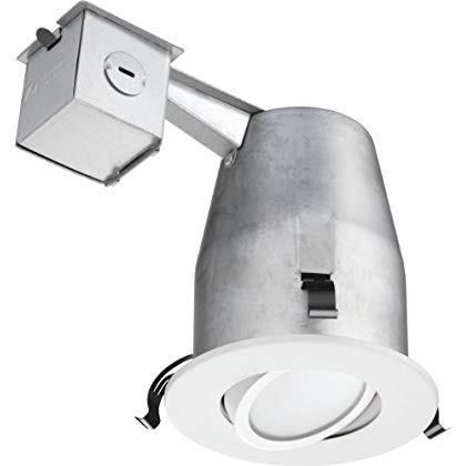 Lithonia Lighting Lighting LK4GMW LED M4 Gimbal Recessed Kit(Lithonia Lighting LK4GMW LED M4ジンバル埋め込みキット)