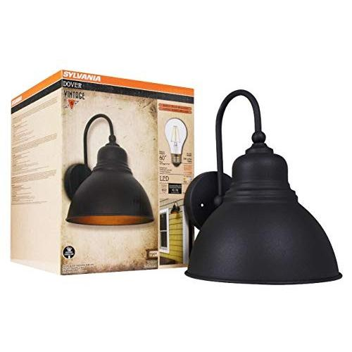 Sylvania 60061 Dover Sconceライト、LED、フラッシュマウント、調光対応、アンティーク)