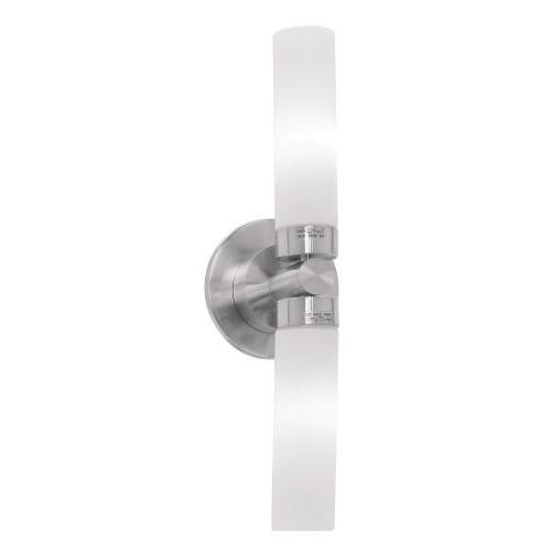 アクセス照明50564-BS / OPL Lynx ADA 2ライトウォール/バニティライト、ブラシ)