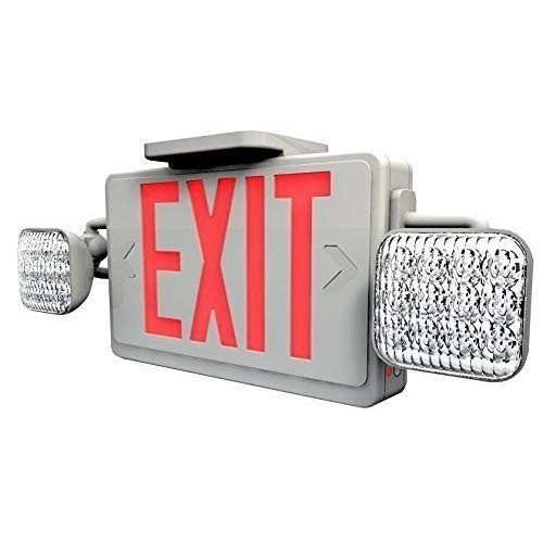 Ciata照明LED赤色出口標識&バッテリーと非常灯コンボ Ciata照明LED赤色出口標識&バッテリーと非常灯コンボ Ciata照明LED赤色出口標識&バッテリーと非常灯コンボ f62