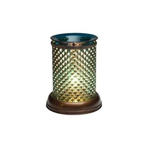 Scentsy Lamphade Warmer(ブルーダイヤモンドシェード)