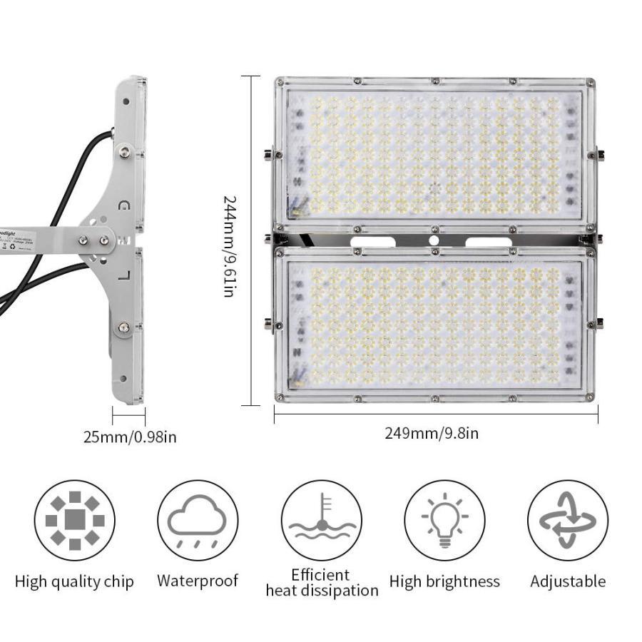 屋外LEDフラッドライト、サラーム室200W 屋外LEDフラッドライト、サラーム室200W LED屋外フラッドライト18000LM