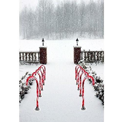 Prextexクリスマスキャンデー杖経路マーカーセット10クリスマスIndoo Prextexクリスマスキャンデー杖経路マーカーセット10クリスマスIndoo