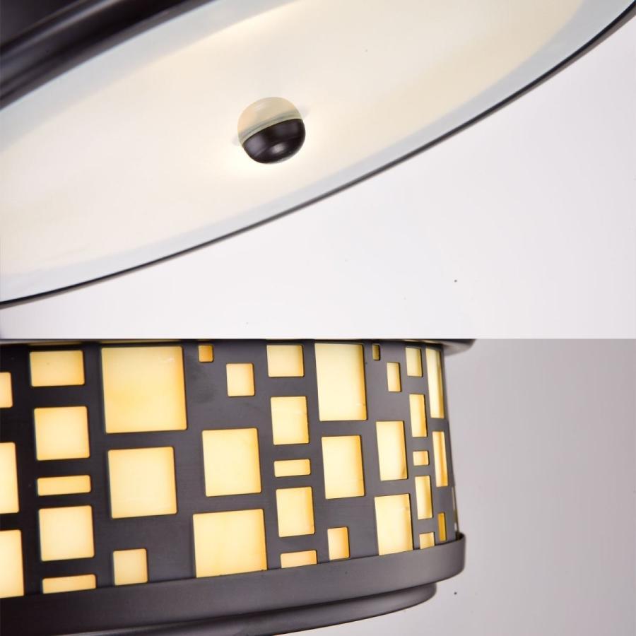 2つの軽い樹脂のフラッシュマウント天井灯をつけるYOBOは、仲間をこすりました