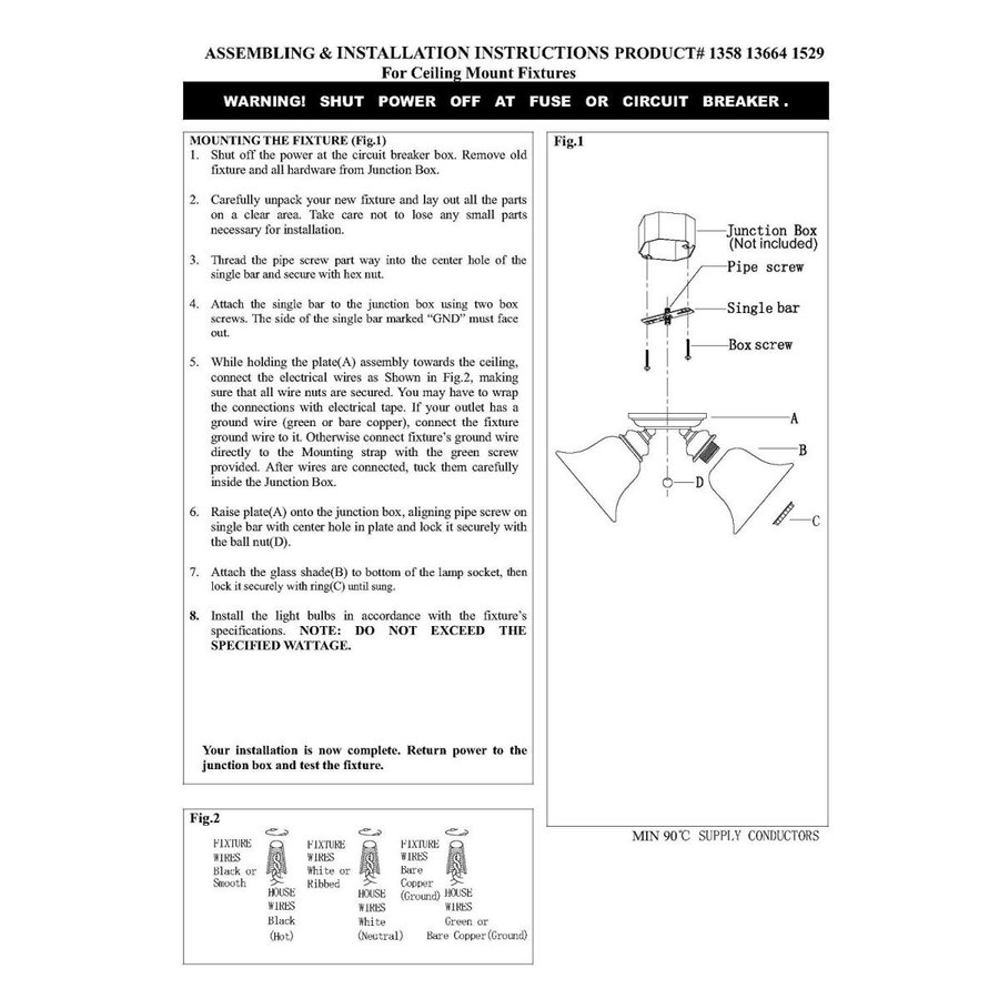 Livex Lighting 1529-91 Edgemont 3ライトシーリングマウント、ブラッシュドニッケル