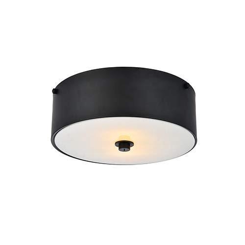 優雅な照明Hazen 2ライト12インチの平らで黒い同じ高さの台紙 2ライト12インチの平らで黒い同じ高さの台紙