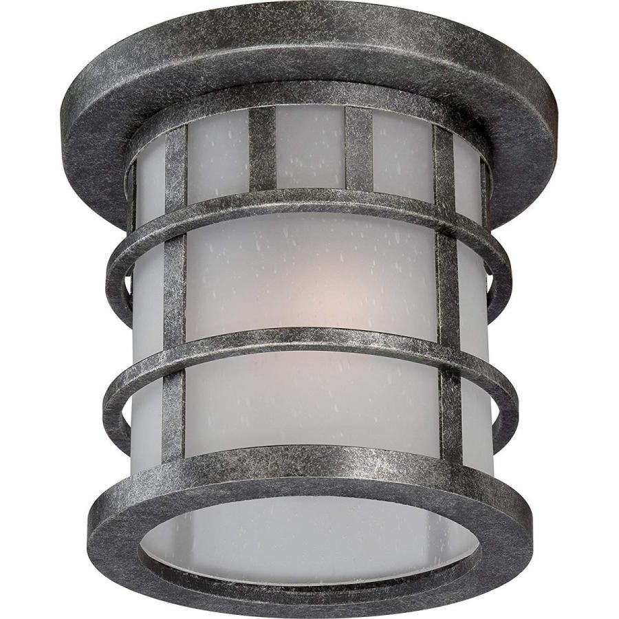 Nuvo Lighting 60/5636 Manor工業用フラッシュ1灯60ワットA19 Outdo