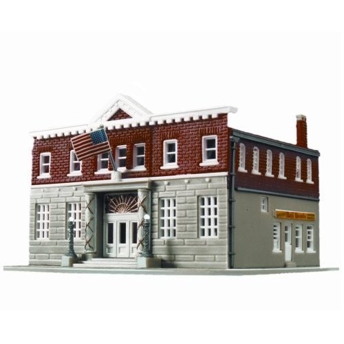 Life-Like Trains N Scale Building Kit - 5th Precinct Police Station Mo