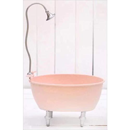 micia luxury(ミシアラグジュアリー) ベビー バス 浴槽 メタル 赤ちゃん ポーズ 写真 プロップ ピンク