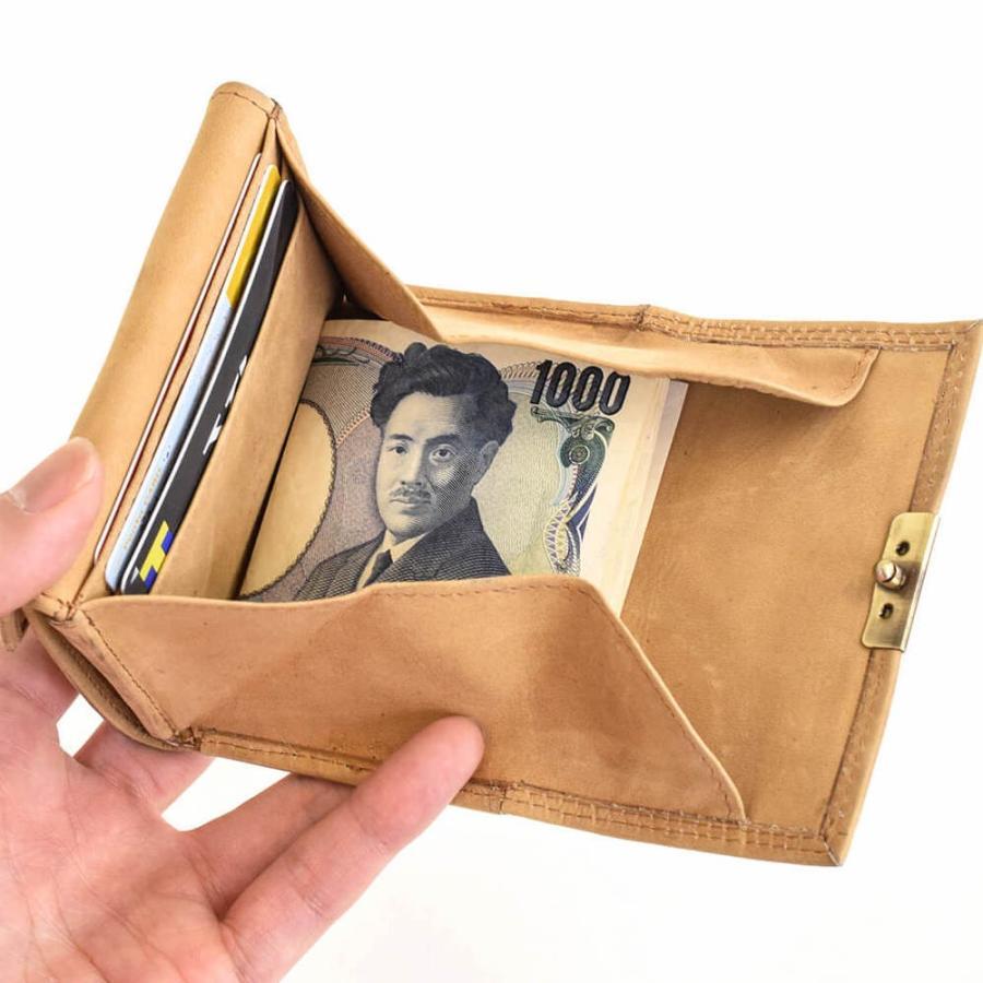 コインケース メンズ レディース 革 レザー コンパクト カード入れ 小銭入れ オールレザーコインケース Smally ハレルヤ|hallelujah0325|07