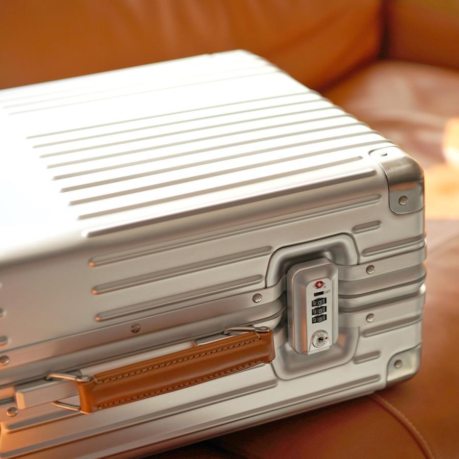イノベーター スーツケース innovator inv1811 36L Sサイズ 機内持ち込みサイズ アルミキャリーケース アルミボデー 北欧 トラベル 送料無料 2年間保証|haloaboxart|11