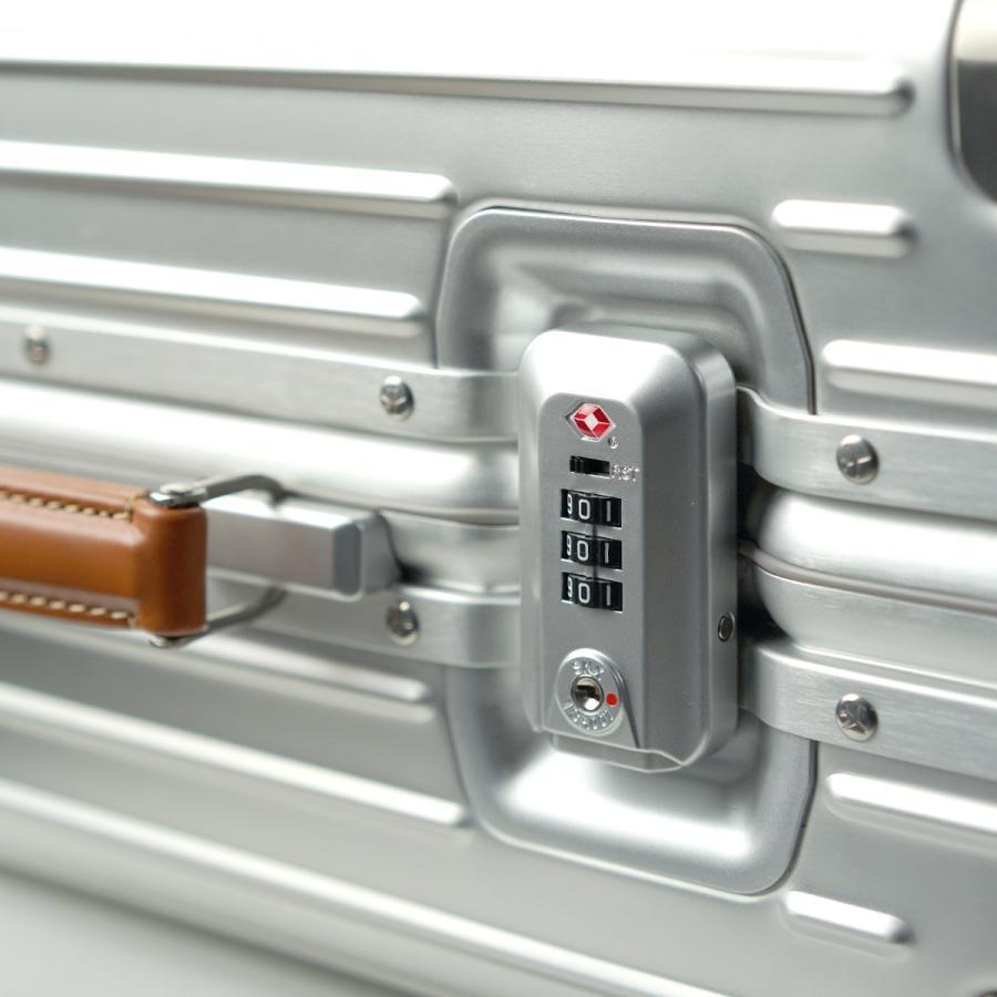 イノベーター スーツケース innovator inv1811 36L Sサイズ 機内持ち込みサイズ アルミキャリーケース アルミボデー 北欧 トラベル 送料無料 2年間保証|haloaboxart|06