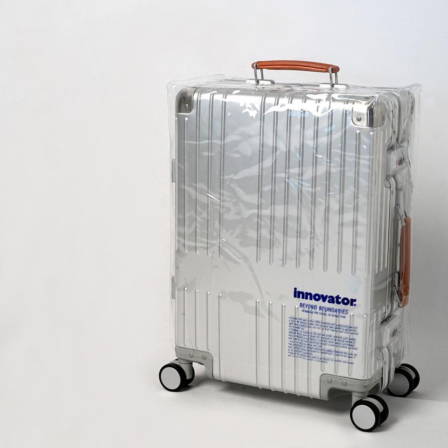 イノベーター スーツケース innovator inv1811 36L Sサイズ 機内持ち込みサイズ アルミキャリーケース アルミボデー 北欧 トラベル 送料無料 2年間保証|haloaboxart|08