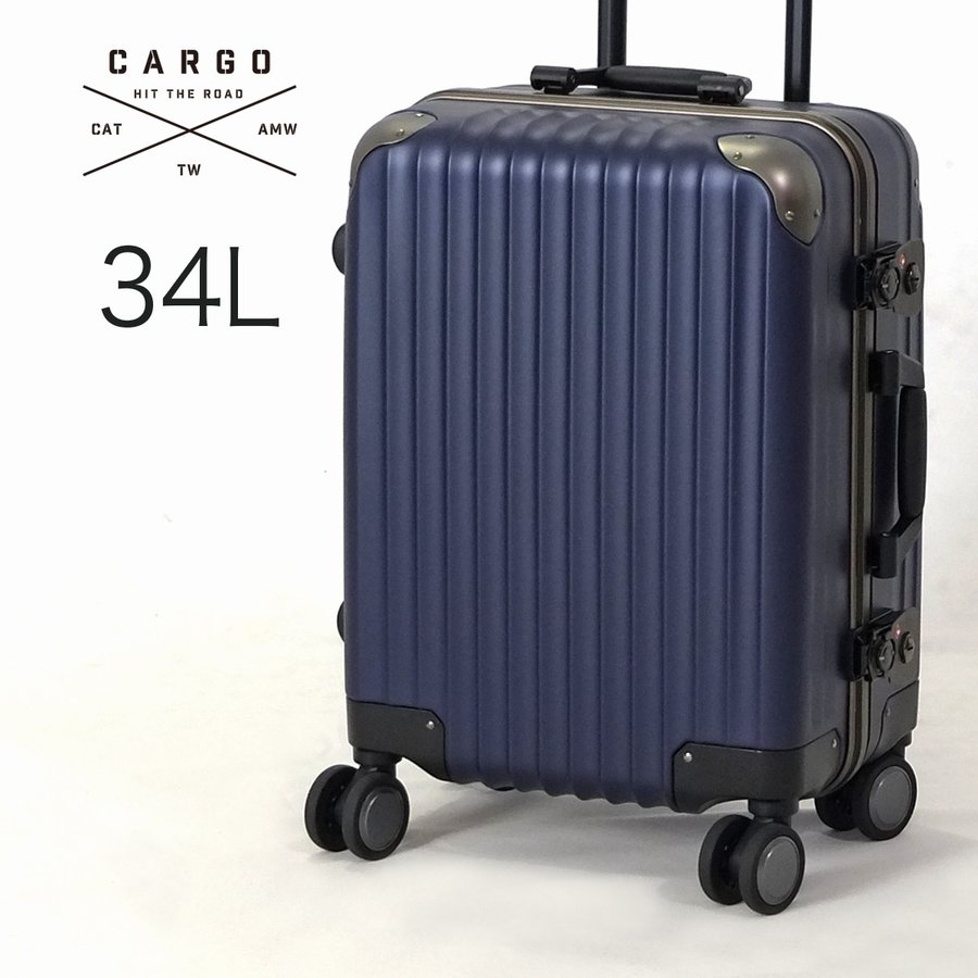 2c7415e5dd スーツケース トリオ CARGO 機内持ち込みサイズ フレームタイプ 小型 ...