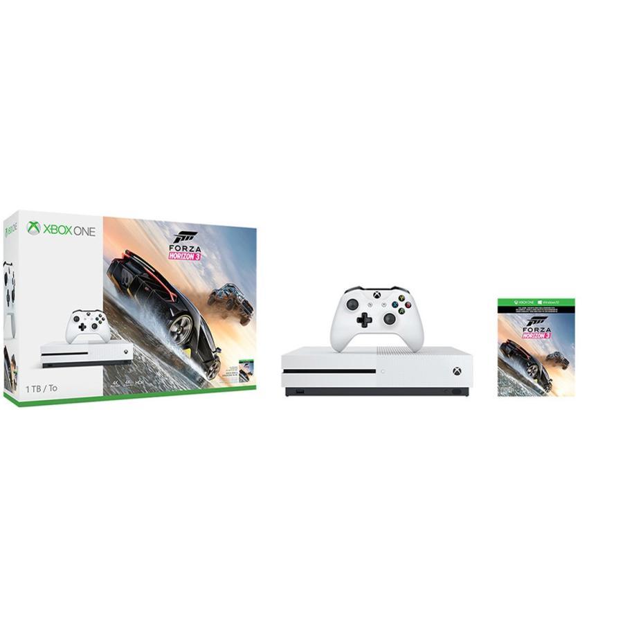 マイクロソフト Xbox One S 1TB (Forza Horizon 3 同梱版)