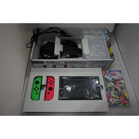 任天堂 Nintendo Switch スプラトゥーン2セット 個人プラン3か月(90日間)利用券付【中古】