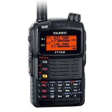 八重洲 144・430MHzデュアルバンド C4FMデジタル・アナログFM 5W ハンディトランシーバー FT1XD