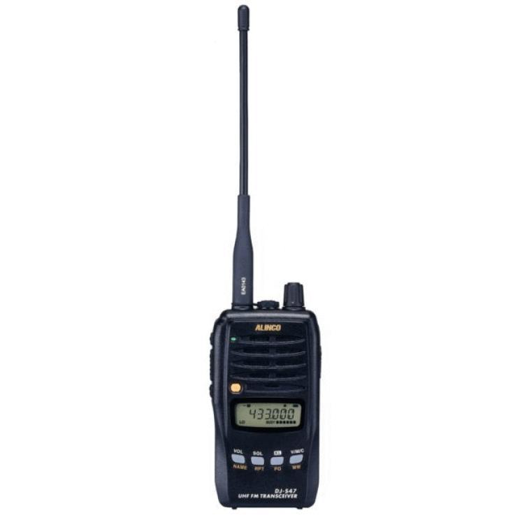 アルインコ 430MHz FM 5W ハンディトランシーバー DJ-S47L