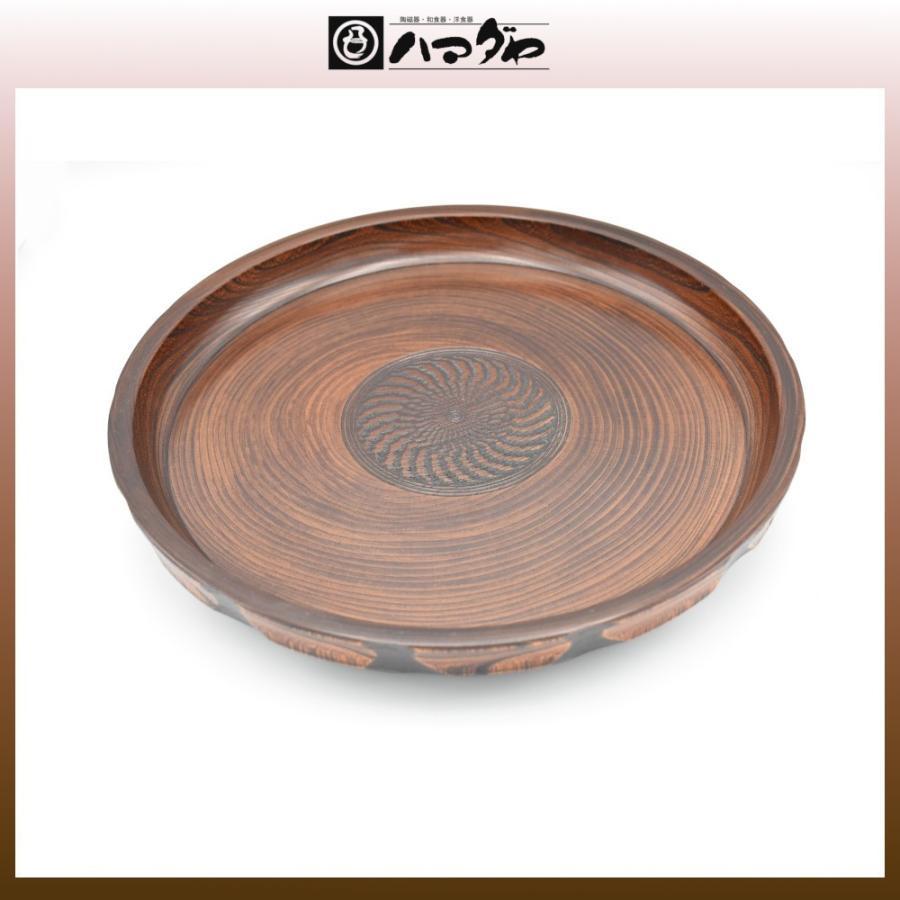山中塗 宮常彫 丸盆 木製11.0深盆 〓 item no.1f609|hamadaya-shokki