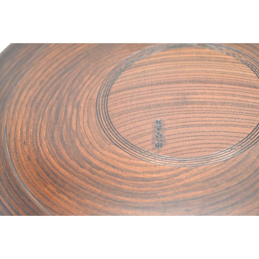 山中塗 宮常彫 丸盆 木製11.0深盆 〓 item no.1f609|hamadaya-shokki|04