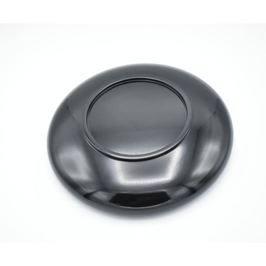 会津塗 錦絵木粉塗黒鉢8.0 現品限り item no.1f611|hamadaya-shokki|04