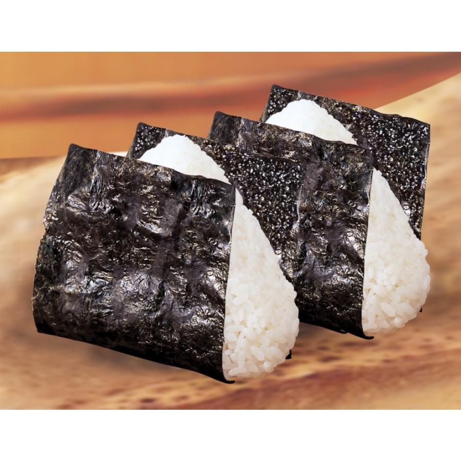 海苔 国産 塩付おにぎりのり 3切20枚(10個セット)|hamaotome|06