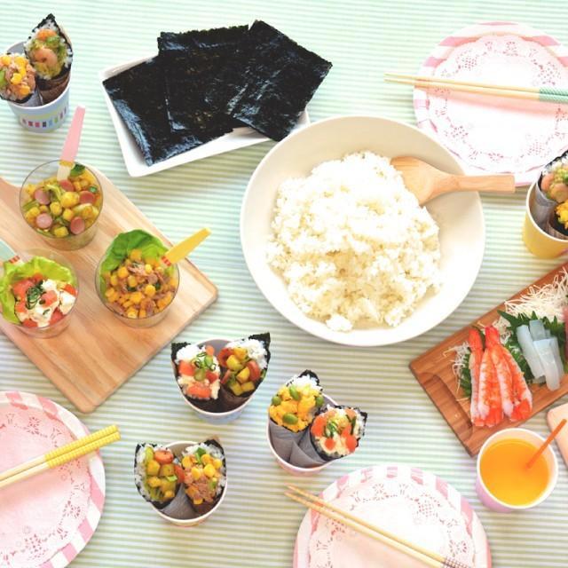 海苔 手巻き寿司 国産 酢付手巻のり 4切20枚(10個セット) hamaotome 07