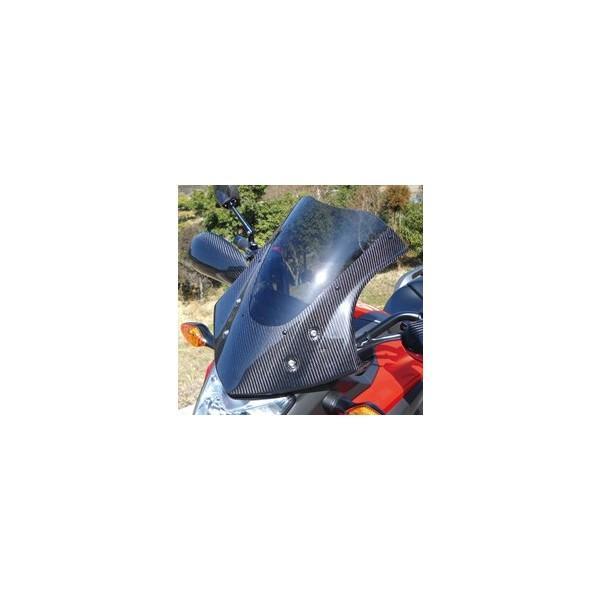 【日本産】 NC700X(12年) バイザースクリーン 綾織りカーボン製/スモーク MAGICAL RACING(マジカルレーシング), ブランド古着 ライフ 812edafb