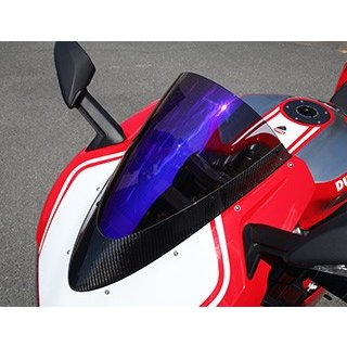 【激安】 カーボントリムスクリーン 綾織りカーボン製 スモーク MAGICAL RACING(マジカルレーシング) DUCATTI 1299 Panigale(15年〜), 草加市 039266e5