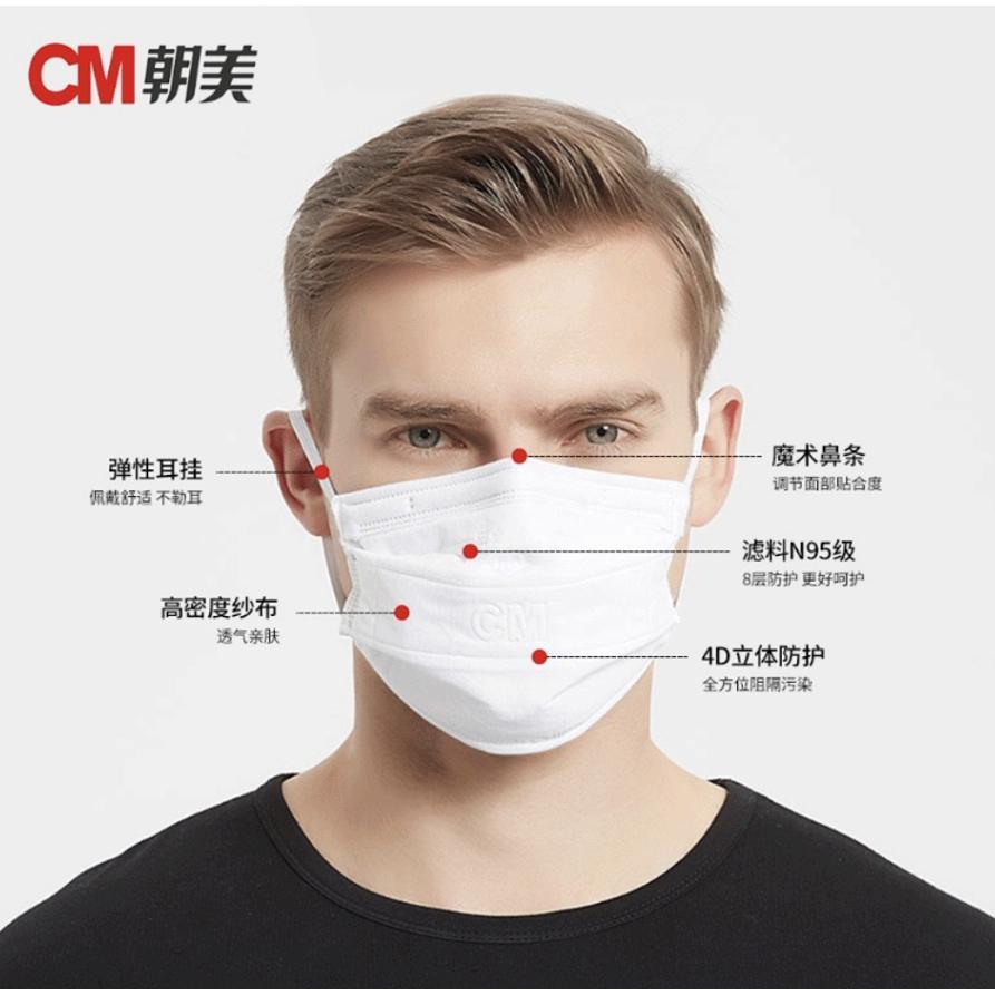 CM朝美 N95マスク 洗って再利用可能 8層構造で医院、病院、クリニック様等、医療現場へ多数の導入実績有り|hamatomocorp|02