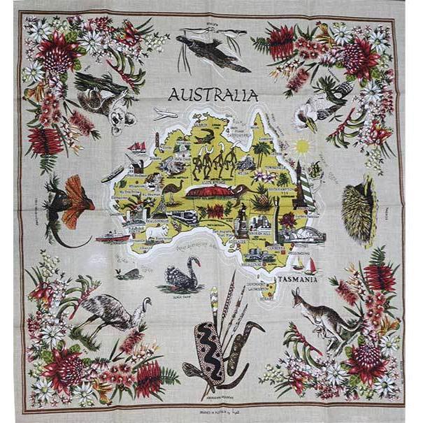 コアラ&野鳥テーブルクロス 海外 土産 貴重 セール 大量 仕入れ インバウンド プレゼント 景品 hamazoku