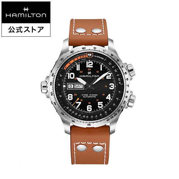 eff558bbf0 ... をその場でお求めいただけます   ファッション   アクセサリー   メンズ腕時計  . ハミルトン 公式 腕時計 Hamilton  Khaki X-Wind Day Date カーキ アビエーション ...