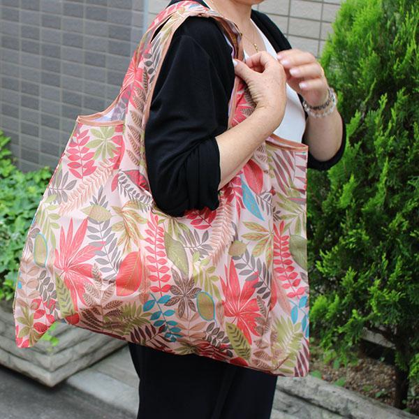 エコバッグ 10柄 ペットボトル6本 トイレットペーパー12ロール  買い物袋 バッグ レジかご  ショッピング A4 ギフト ショッピングバッグ 折りたたみ 送料無料 hana-ichirin 05