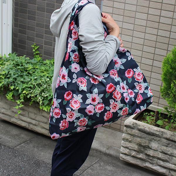 エコバッグ 10柄 ペットボトル6本 トイレットペーパー12ロール  買い物袋 バッグ レジかご  ショッピング A4 ギフト ショッピングバッグ 折りたたみ 送料無料 hana-ichirin 07