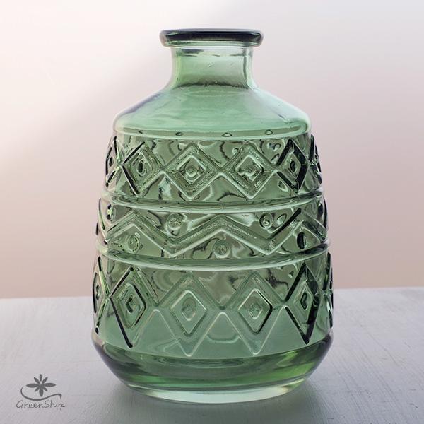 フラワーベース 花瓶 ガラス エメル・ボトルベース|hana-kazaru