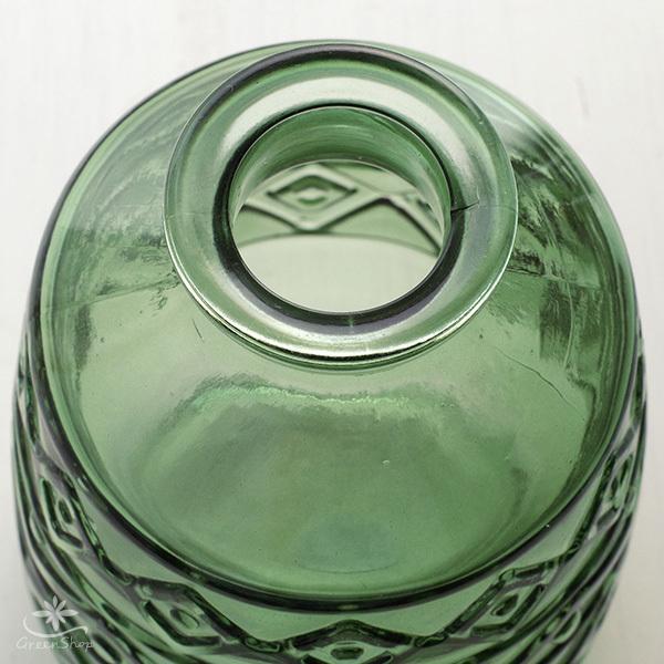 フラワーベース 花瓶 ガラス エメル・ボトルベース|hana-kazaru|03